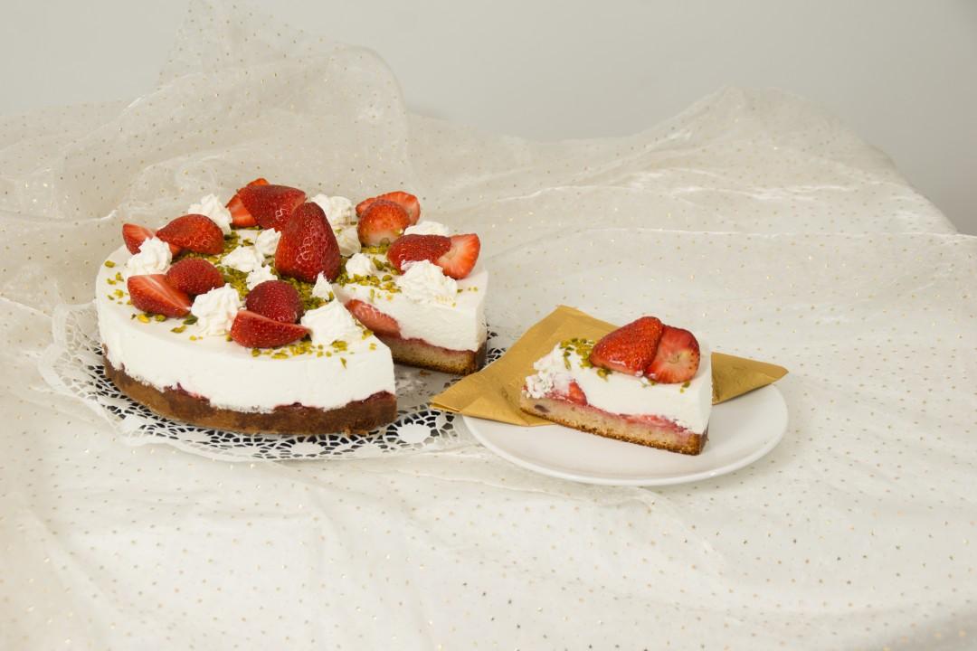 Erdbeer-Topfen-Terrine