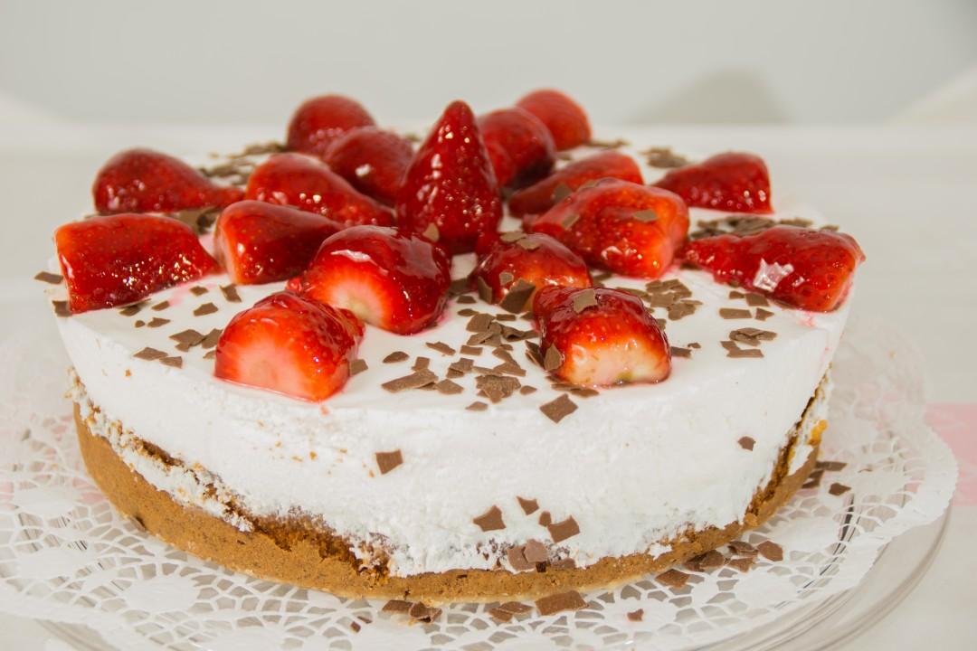 Erdbeer-Joghurt-Schnitten