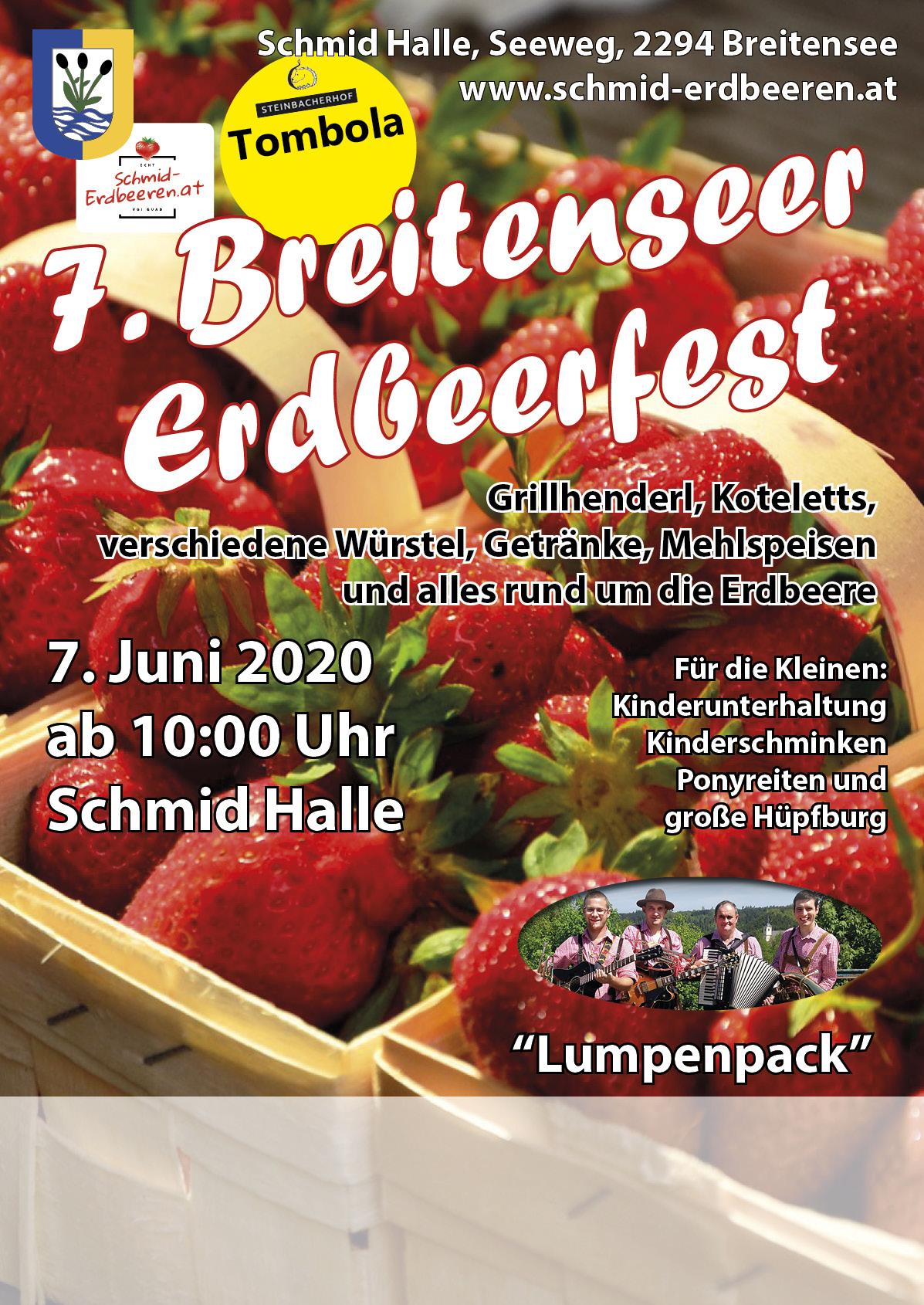 4. Erdbeerfest in Breitensee